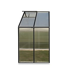 Riverstone Monticello Black 4-Foot Greenhouse Extension Kit in Black