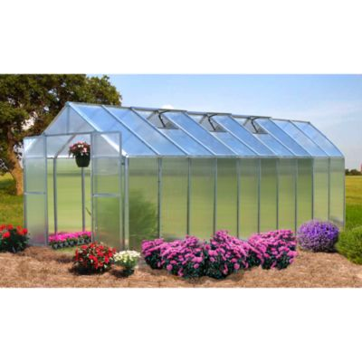 Riverstone Monticello Extruded Aluminum 8-Foot x 20-Foot Residential Greenhouse