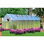 Riverstone Monticello Extruded Aluminum 8' x 24' Residential Greenhouse
