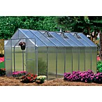 Riverstone Monticello Extruded Aluminum 8-Foot x 16-Foot Residential Greenhouse