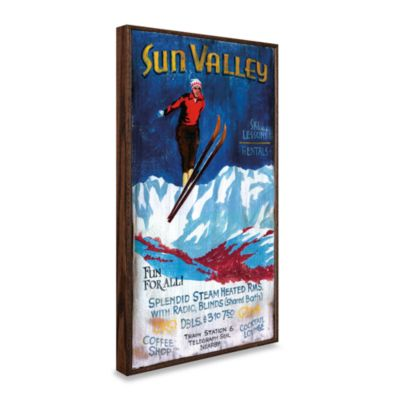 Sun Valley Vintage Wall Plaque