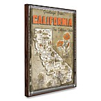 Vintage Greetings from California Wall Plaque