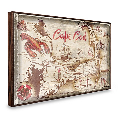 Vintage Greetings from Cape Cod Wall Plaque