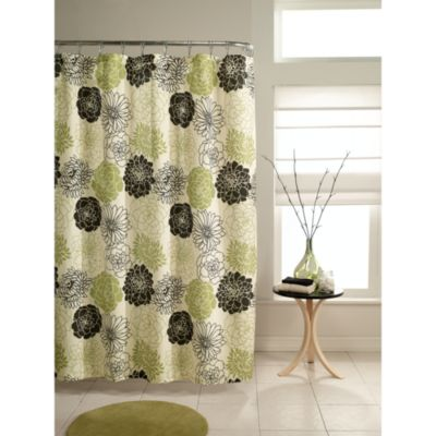 Gorgeous 70-Inch W x 72-Inch L Fabric Shower Curtain