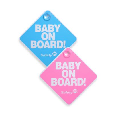 Safety 1st® Baby On Board Sign in Blue