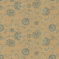 Jacoby Fabric by the Yard - Blue Stone