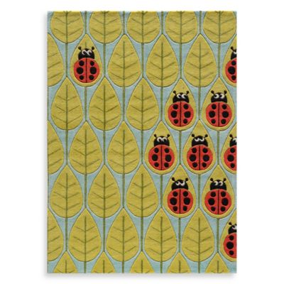 Momeni 'Lil Mo Whimsy 2-Foot x 3-Foot Lady Bug Area Rug