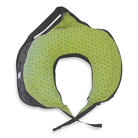 Boppy® Travel Pillow in Mama Dot Basket Green
