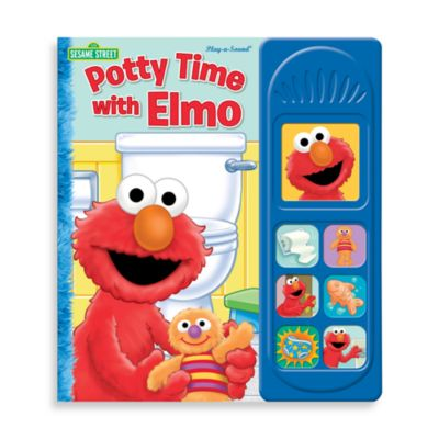 Little Sound Potty Time with Elmo Board Book - from Sesame Street