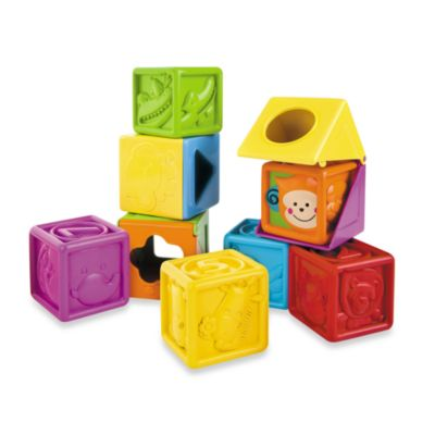 B Kids® Bebee & Friends™ Soft Peek-A-Boo Block