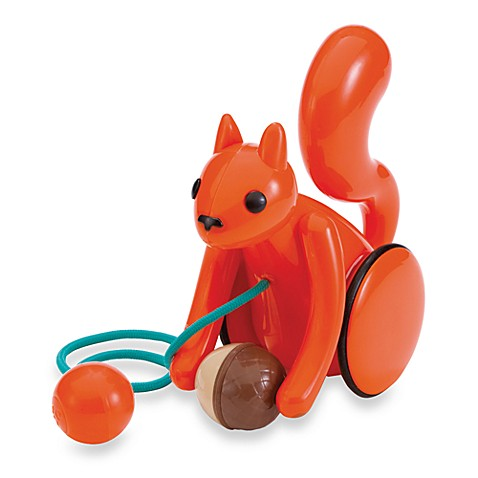 Kid-O Squirrel Pull Toy
