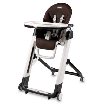 Peg Perego Siesta High Chair in Cacao Brown