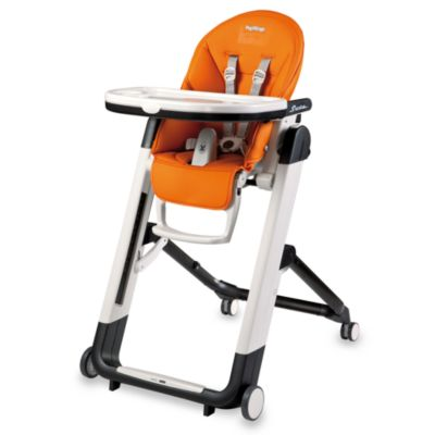 Peg Perego Siesta Highchair in Arancia Orange