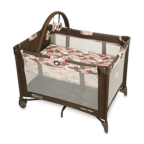 Graco® Pack 'n Play® Playard with Automatic Folding Feet (Camo Jane™)