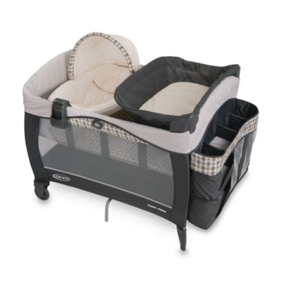 Playards > Graco® Pack 'n Play® Playard with Newborn Napper® Elite in Vance™