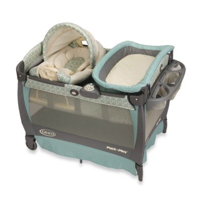 Pack N Plays > Graco® Pack 'n Play® Playard with Cuddle Cove™ Rocking Seat in Winslet™