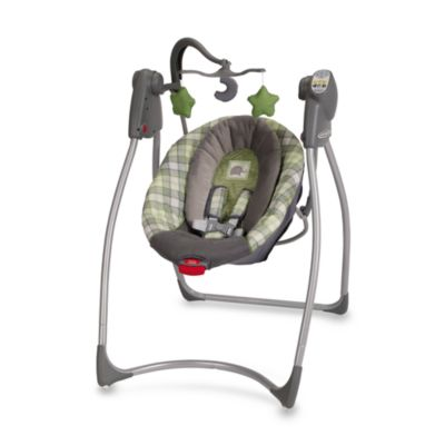 Travel Swings > Graco® Comfy Cove™ LX Swing in Roman™