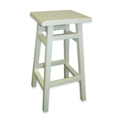 Carolina Chair & Table O'Malley 30-Inch Pub Bar Stool in Antique White