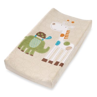 Summer Infant® Plush Pals Changing Pad Cover in Safari Stacks