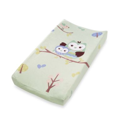 Summer Infant Plush Pals Changing Pad Cover in Who Loves You Owl