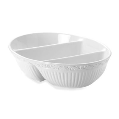 Mikasa® Italian Countryside Divided Oval Server