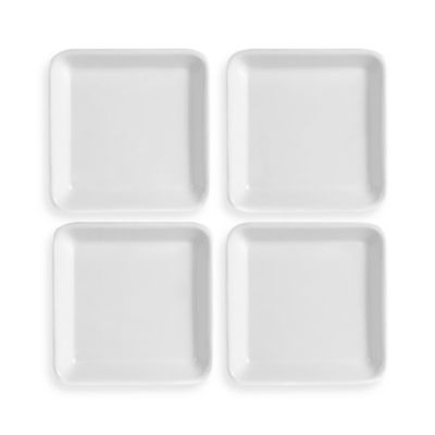 French Countryside 4 1/2-Inch Square Dipping Plates (Set of 4)