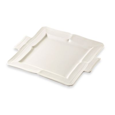 French Countryside 11-Inch Square Dessert Tray