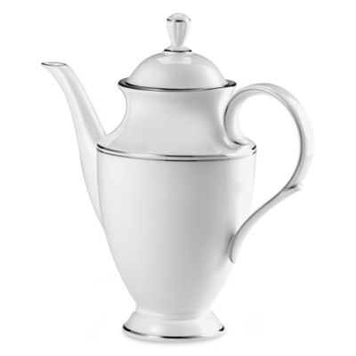 Lenox® Federal Platinum 48-Ounce Coffeepot