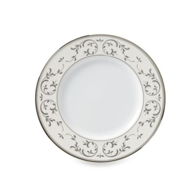 Lenox® Opal Innocence™ Accent Plate in White/Platinum