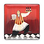 Certified International Bistro by Jennifer Garant 12 1/2-Inch x 12 1/2-Inch Square Platter