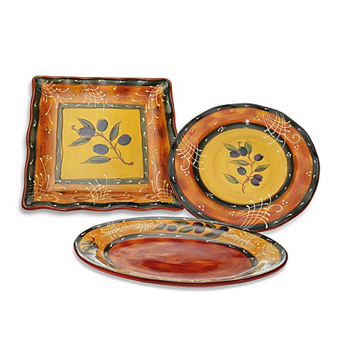 Certified International French Olives Dinnerware