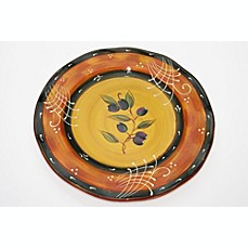 Certified International French Olives by Stephanie Vacher 16-Inch Round Platter