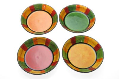 Certified International Caliente 9.5-Inch Soup/Pasta Bowls (Set of 4)