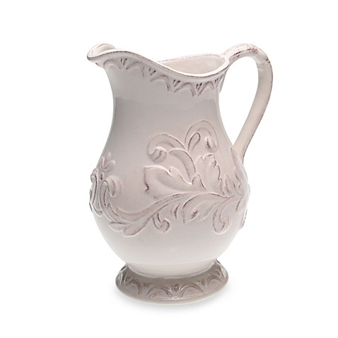 Certified International Firenze 3-Quart Pitcher in Ivory