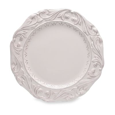 Certified International Firenze 16-Inch Round Platter in Ivory