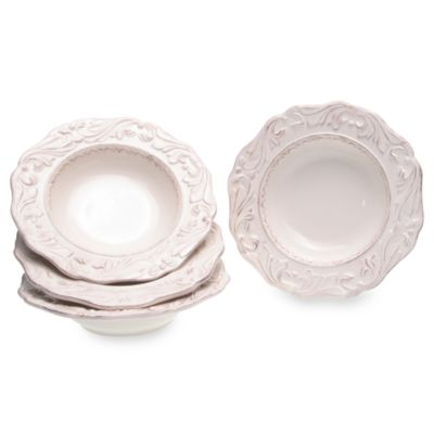 Certified International Firenze 9.25-Inch Soup Bowls in Ivory (Set of 4)
