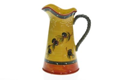 Certified International French Olives 2.75-Quart Pitcher