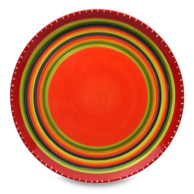 Certified International 16.5-Inch Round Hot Tamale Platter
