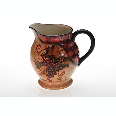 Certified International Wine Cellar Collection 3.5-Quart Pitcher