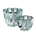 Shiraleah Clear Recycled Glass Scalloped Votives