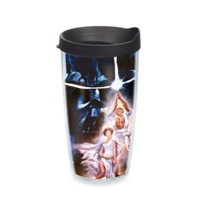 Tervis® Star Wars™ Original Poster Wrap 16-Ounce Tumbler with Black Travel Lid