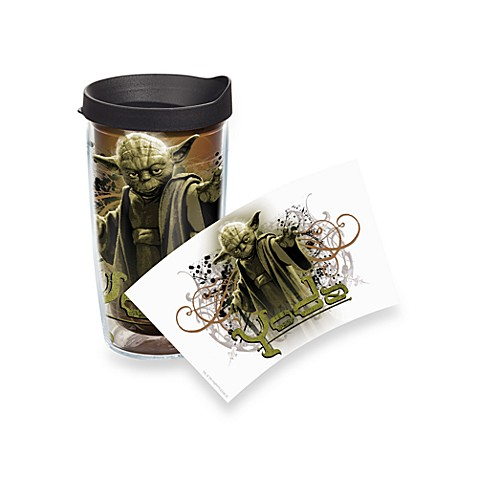 Tervis® Star Wars™ Yoda Wrap 16-Ounce Tumbler with Black Travel Lid
