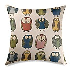 Give a Hoot 22-Inch Square Toss Pillow