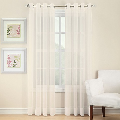 Outdoor Mosquito Netting Curtains Grommet Sheer Curtains