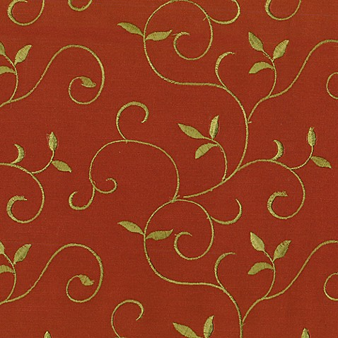 Bexley Fabric by the Yard and Swatch - Cinnamon