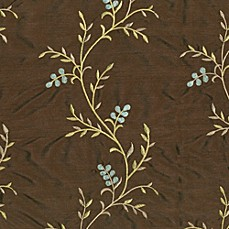 Sienna Fabric by the Yard and Swatch - Chocolate