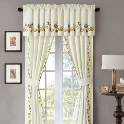 Harbor House Amber Window Valance