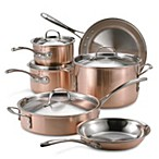 image of Calphalon® Tri-Ply Copper 10-Piece Cookware Set