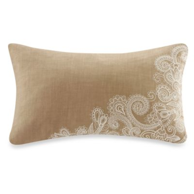 Harbor House Chelsea Paisley Embroidered Corner Oblong Toss Pillow