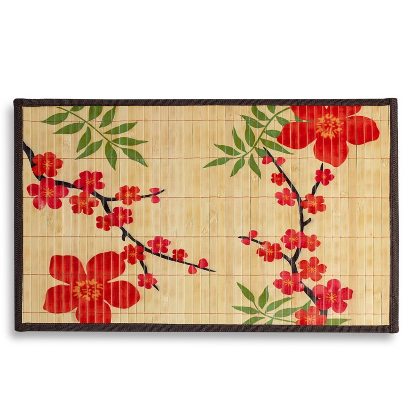 Cherry Blossom Bamboo Placemat